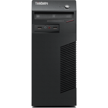 Calculator second hand Lenovo ThinkCentre M73 Intel Core i3-4130 3.40GHz 4GB DDR3 160GB HDD DVD-RW Tower