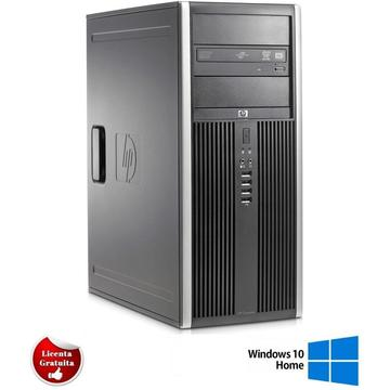 Calculator refurbished HP Elite 8200 i5-2400S 2.5GHz 8GB DDR3 500GB HDD Sata DVD-RW Tower Soft Preinstalat Windows 10 Home