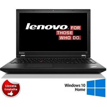 Laptop refurbished Lenovo L540 i5-4300M 2.60 4GB DDR3  128GB SSD  Webcam Soft Preinstalat Windows 10 Home