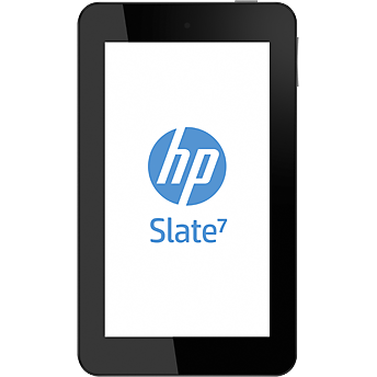 Tableta Second Hand HP Slate 7 2800 7inch Dual Core 1.6GHz 1GB Ram 8GB Wi-Fi Silver Beats by DRE