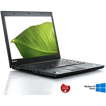 Laptop refurbished Lenovo ThinkPad T440 I5-4300U 1.9GHz up to 2.9GHz 8GB DDR3 500GB HDD 14inch Webcam Soft Preinstalat Windows 10 Home