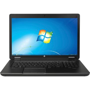Laptop second hand HP Zbook 17 I7-4700MQ 2.4GHz up to 3.4GHz 32GB DDR3 500GB HDD+ 240GB SSD nVidia Quadro K3100M 4GB GDDR 5 DVDRW 17inch Full HD Webcam