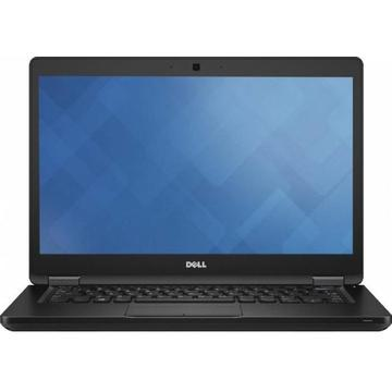 Laptop second hand Dell Latitude 5480	i5-6440HQ 2.60GHz up to3.50GHz 4GB DDR4 256GB SSD M2Sata 14inch Webcam