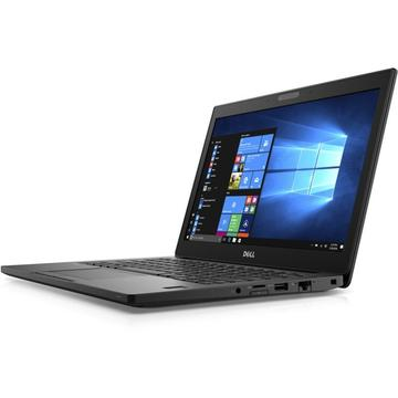 Laptop second hand Dell Latitude 7280i7-7600U 2.80GHz up to 3.90GHz 16GB DDR4 180GB SSD M2Sata  12.5inch FHD Touch Webcam