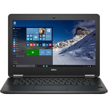Laptop second hand Dell Latitude 7270 i5-6300U 2.40GHz up to 2.80GHz4GB DDR4 256GB SSD M2Sata 12.5inch FHD Webcam
