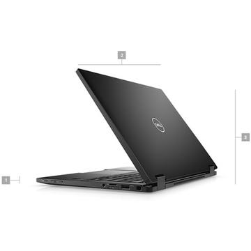 Laptop second hand Dell Latitude 7390 2-in 1 i7-8650U 1.90GHz up to 3.60GHz 16GB DDR3	 256GB SSD M2Sata 13.3 inch FHD Webcam Touch