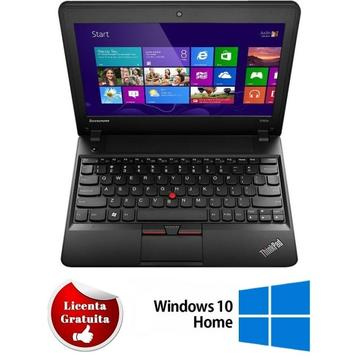 Laptop refurbished Lenovo Thinkpad X140E AMD E1-2500 1.4Ghz 4GB DDR3 500GB HDD Sata 11.6 inch 2 x USB 3.0 HDMI Soft Preinstalat Windows 10 Home