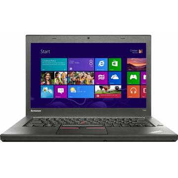 Laptop second hand Lenovo ThinkPad T450 Intel Core i5-5300U 2.30GHz up to 2.80GHz 8GB DDR3 HDD 500GB 14 inch HD Webcam Baterie Extinsa