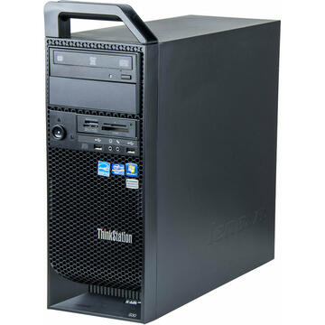 WorkStation second hand Lenovo ThinkStation S30 Tower Intel Xeon E5-1603 2.80GHz 16GB DDR3 ECC 500GB HDD + 240GB SSD DVD-RW Nvidia Quadro 4000 2GB 256bit GDDR5