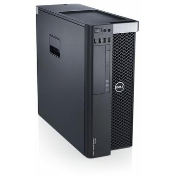 WorkStation second hand Dell Precision T3600, Intel QUAD Core Xeon E5-1620 3.60 GHz, 8GB DDR3 ECC, 500GB HDD, nVidia Quadro 2000, DVDRW, GARANTIE 3 ANI