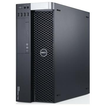 WorkStation second hand Dell Precision T5600, Intel OCTA Core Xeon E5-2670 2.60GHz, 32GB DDR3 ECC, 500GB SSD, nVidia Quadro K4000, DVDRW, GARANTIE 3 ANI