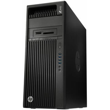 WorkStation second hand HP Z440, Intel QUAD Core Xeon E5-1620 v3 3.50Ghz, 32GB DDR4 ECC, 128GB SSD + 1TB HDD, nVidia Quadro K2200, DVDRW, GARANTIE 3 ANI