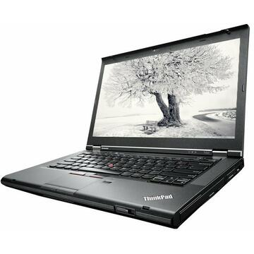 Laptop Remanufacturat Lenovo ThinkPad T430, i5-3320M, 8GB DDR3, 240GB Sata, Soft Preinstalat Windows 10 Professional
