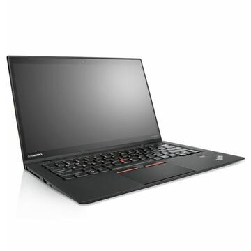 Laptop second hand Lenovo X1 Carbon Intel Core i7-3667U 2.00GHz up to 3.20GHz 8GB DDR3 180GB M2Sata SSD 14 inch 1600x900 WEB Tastatura iluminata