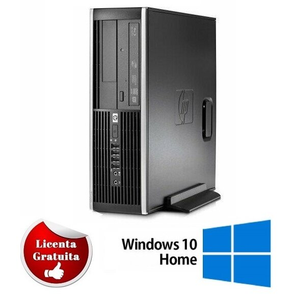 Calculator refurbished 6200 Pro Intel Core i3-2100 3.1GHz 4GB DDR3 500GB HDD Sata DVD- RW Desktop Soft Preinstalat Windows 10 Home