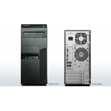 Calculator refurbished Lenovo ThinkCentre M82 Intel Core i3-2120 3.30GHz 4GB DDR3 500GB HDD DVD-RW Tower Soft Preinstalat Windows 10 Home