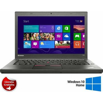 Laptop refurbished Lenovo ThinkPad T450, Intel Core i5-5200U 2.20GHz up to 2.70GHz, 8GB DDR3, 128GB SSD, 14.1inch 1600X900 Soft Preinstalat Windows 10 Home
