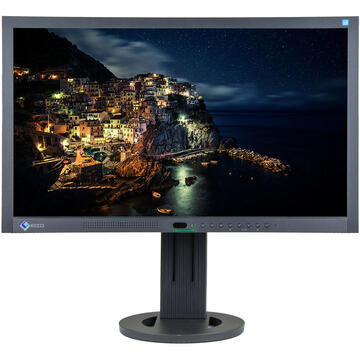 Monitor Eizo FLEXSCAN EV2313W, 23 INCH LED, 1920 X 1080 FULL HD, 16:9, DISPLAYPORT, NEGRU - ARGINTIU
