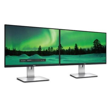 "Monitor Dell U2415, 24"", Full HD, Led DisplayPort, HDMI, Negru, U2415"