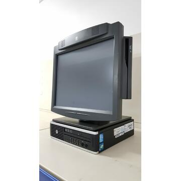 "POS second hand POS AIO 15""Touchscreen NCR HP Intel Core i5-2400S 2.5GHz 4GB DDR3 160GB HDD DVD-RW"