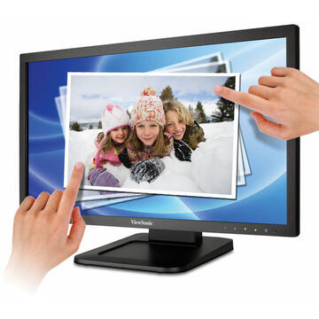 Monitor Viewsonic TD2220 22 Inch 1080p Dual-Point Optical Touch Screen Monitor with DVI and VGA