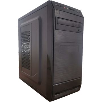 ABD Desktop PC LogicGraw, Procesor Intel Core i5-3470s 2.9GHz up to 3.6GHz, 8GB DDR3 HDD 500GB + 120 SSD DVD-RW, video dedicata GeForce GT 710 2GB,  Mouse si Tastatura Cadou