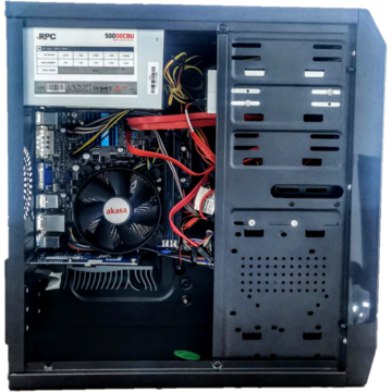ABD Sistem PC OrangeGames, Intel Core i5-3470 3.20 GHz, HDD 500GB, 8GB DDR3, DVD-RW GeForce GT 1030 2GB,  Mouse si Tastatura Cadou