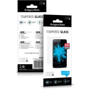 KRUGER&MATZ FOLIE STICLA TEMPERED GLASS LIVE 5+ KM