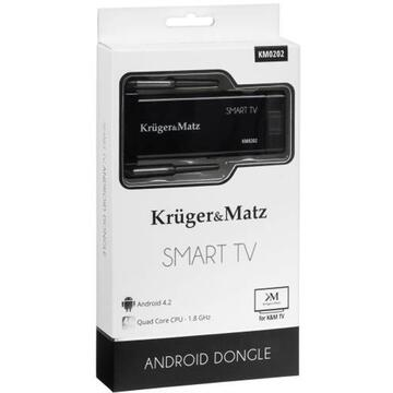 KRUGER&MATZ SMART TV ANDROID DONGLE QUAD CORE RK3188 K&M
