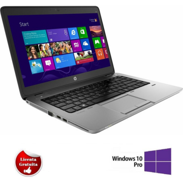 EliteBook 840 G2, i5-5300U, 8GB DDR3, 128GB SSD Soft Preinstalat Windows 10 Professional
