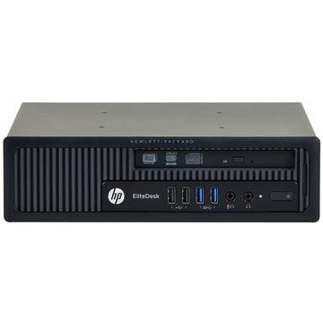 Calculator second hand HP Elitedesk 800 G1 Intel Core i5-4590 3.30GHz up to 3.70GHz 4GB DDR3  500GB HDD Sata DVD-ROM Desktop