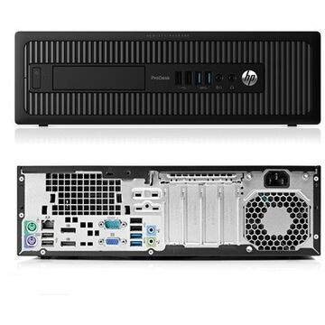 Calculator second hand HP ProDesk 600 G1 Intel Core i5-4570 3.20GHz up to 3.60GHz 4GB DDR3 HDD 500GB Sata SFF
