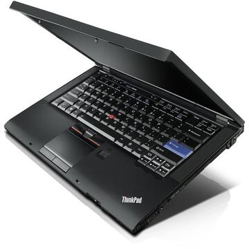 Laptop refurbished Lenovo ThinkPad T410, i5-560M, 4GB DDR3, 250GB HDD Sata, DVD-RW, 14.1 inch, Soft Preinstalat Windows 10 Professional