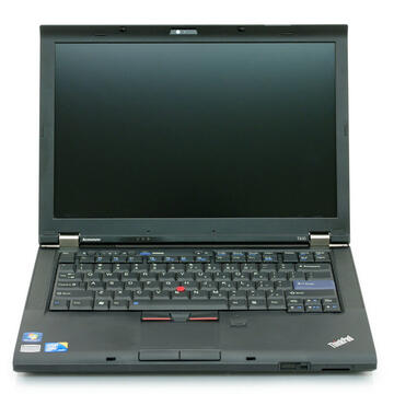 Laptop refurbished Lenovo ThinkPad T410, i5-520M, 4GB DDR3, 320GB HDD Sata, DVD-RW, 14.1 inch, Soft Preinstalat WIndows 10 Home