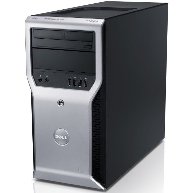 WorkStation second hand Precison T1600 XEON E3-1225 3.10GHz 8GB DDR3 500GB HDD DVD-ROM TOWER