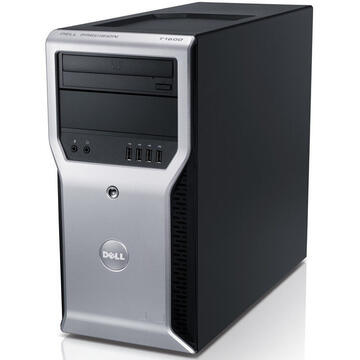 WorkStation second hand Dell Precison T1600 XEON E3-1225, 8GB DDR3, 500GB HDD, DVD-ROM, TOWER, Soft Preinstalat Windows 10 Home