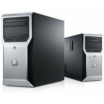 WorkStation second hand Dell Precison T1600 XEON E3-1225, 4GB DDR3, 500GB HDD, DVD-ROM, TOWER, Soft Preinstalat Windows 10 Home
