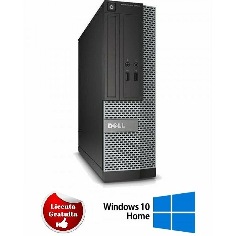 Calculator refurbished Optiplex 7010, i5-3570, 4GB DDR3, 320GB HDD SATA, DVD, Desktop, Soft Preinstalat Windows 10 Home