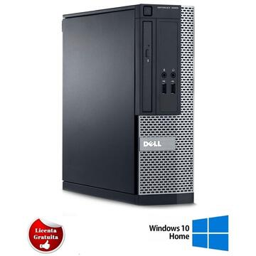 Calculator refurbished Dell Optiplex 3020, i5-4570T, 8GB DDR3, 500GB HDD, SFF, Soft Preinstalat Windows 10 Home