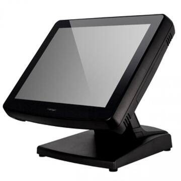 POS second hand Posiflex KS7515 Terminal Intel Celeron B815 1.60GHz 4GB DDR3 320GB HDD SATA 15inch Touchscreen