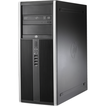 Calculator refurbished HP Elite 8200 i7-2600 3.40GHz up to 3.8GHz 8GB DDR3 500GB HDD DVD Tower Soft Preinstalat Windows 10 Professional