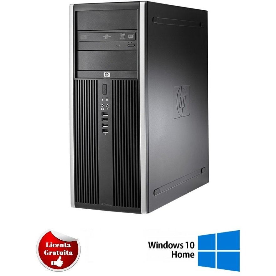Calculator refurbished Elite 8300 i7-3770 3.4GHz up to 3.9GHz 4GB DDR3 500GB HDD SATA DVD Tower Soft Preinstalat Windows 10 Home