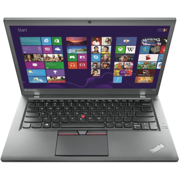 Laptop second hand Lenovo ThinkPad T450 Intel Core i5-5300U 2.30GHz up to 2.90GHz 8GB DDR3 180GB SSD HD+ 14inch Webcam