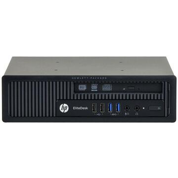 Calculator second hand HP EliteDesk 800 G1 Intel Core i3-4330 3.50GHz 4GB DDR3 500GB HDD Desktop SFF