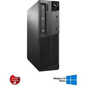 Calculator refurbished Lenovo ThinkCentre M92p Intel Core i7-3770 3.4GHz up to 3.90GHz 4GB DDR3 500GB HDD SATA Desktop Soft Preinstalat Windows 10 Home