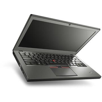 Laptop refurbished Lenovo X250 Intel i5-5300U 2.30GHz up to 2.90GHz 4GB DDR3 256GB SSD 12.5inch 1366x768 Webcam Soft Preinstalat Windows 10 Home