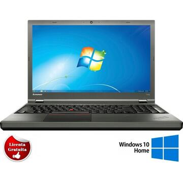 Laptop refurbished Lenovo ThinkPad T540p Intel Core i7-4710MQ 2.50GHz up to 3.50GHz 8GB DDR3 500GB HDD DVD Nvidia GeForce GT730M 1GB GDDR 3 15.6inch FHD 4G Webcam SOFT PREINSTALAT WINDOWS 10 HOME