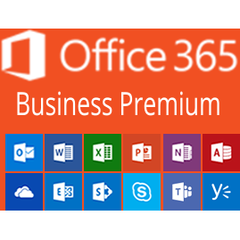 Microsoft Office 365 Business Premium (subscriptie lunara)
