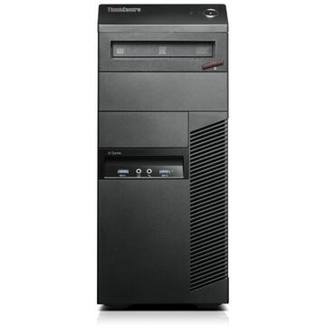 Calculator second hand Lenovo ThinkCentre M93p Intel Core i5-4590 3.30GHz up to 3.70GHz 4GB DDR3 500GB HDD SATA DVD-RW Tower