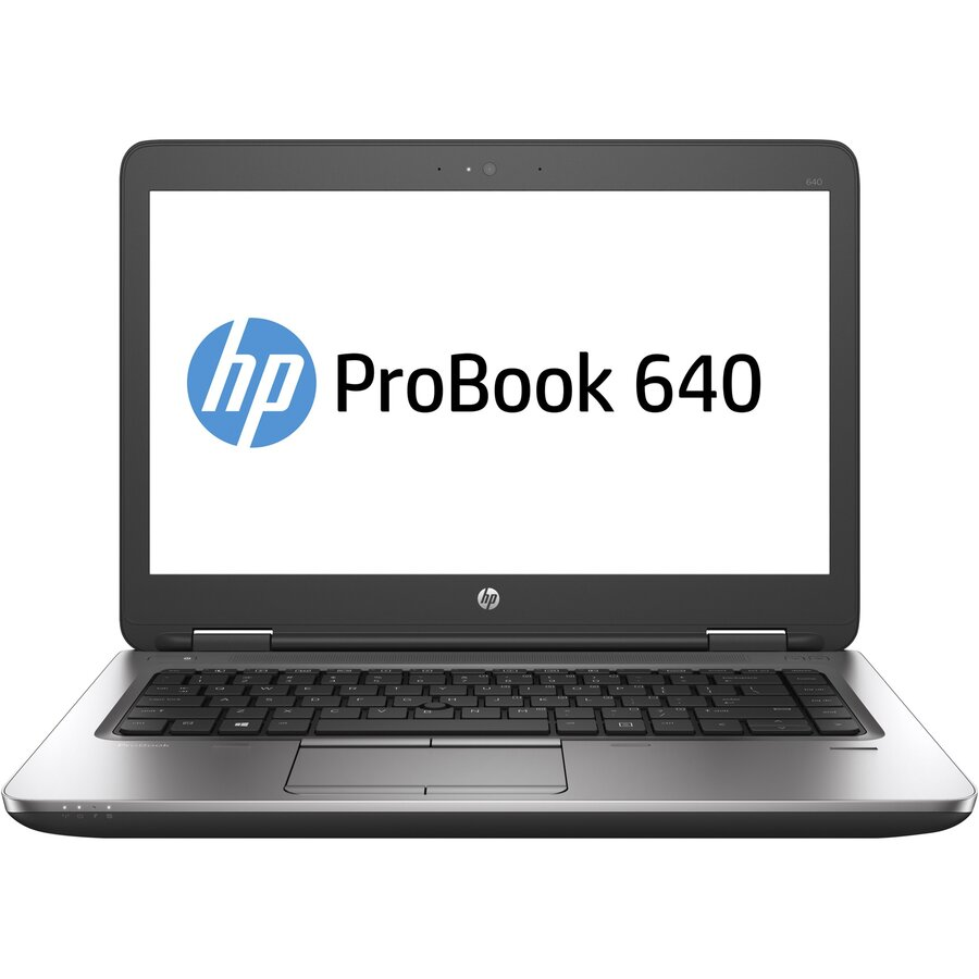 Laptop second hand ProBook 640 G2 Intel Core i5-6200U 2.30GHz up to 3.80GHz 8GB DDR4 128GB SSD M2 Sata  14Inch FHD DVD Webcam